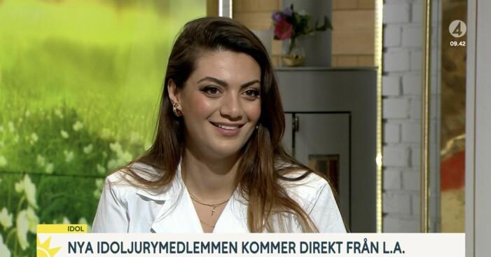 Katia Mosally är ny i Idol-juryn.