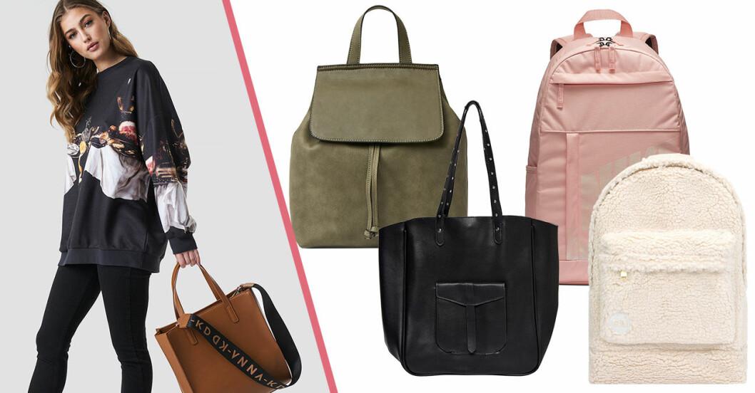 Skolväska 2019: Väskor och ryggsäckar till skolan