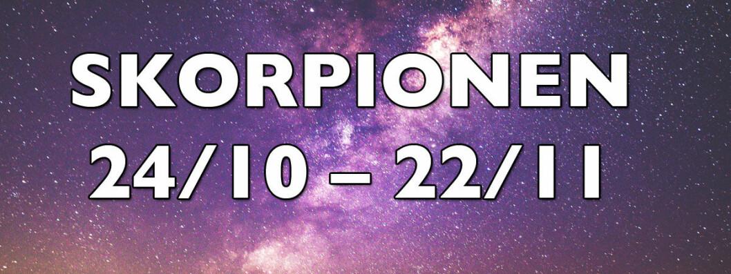 Horoskop för skorpionen.