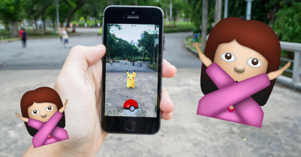 sluta spela pokemon go
