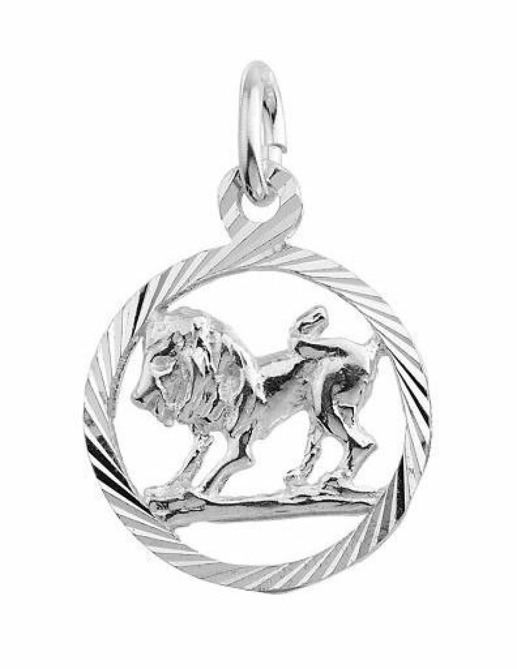 Smycke med stjärntecken lejon