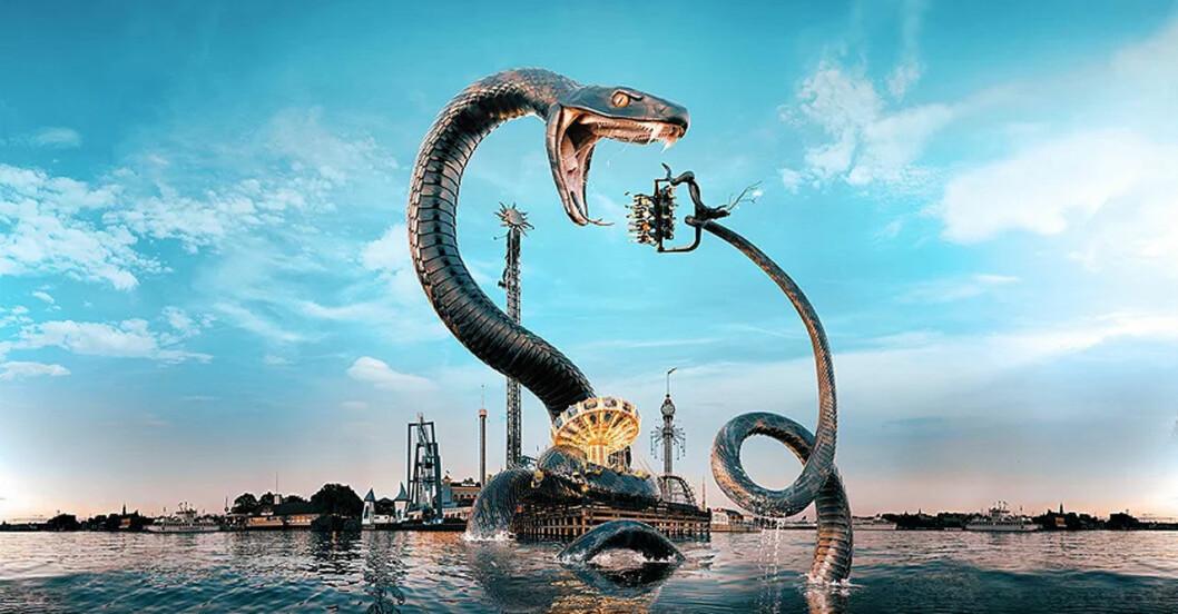 Gröna Lunds snake