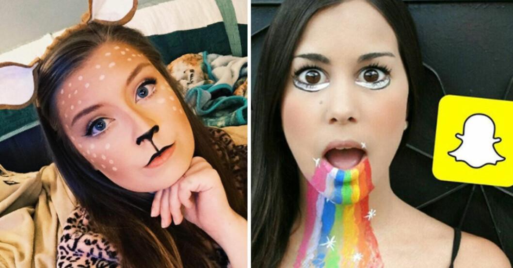Snapchat-filter-halloween-smink