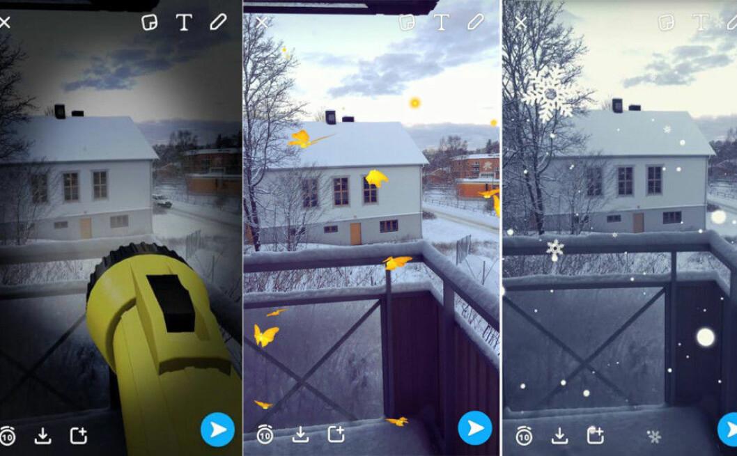 Snapchat-filter-VR