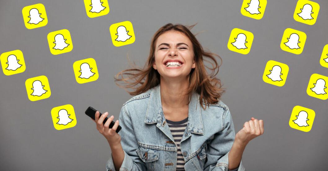 Snapchat-linser-filter-linsutforskaren