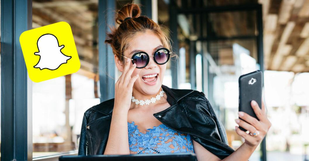 Snapchat-spara-meddelanden
