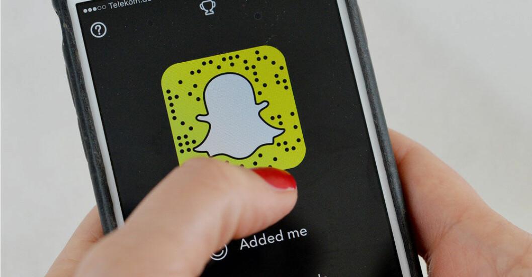 Snapchat-tv-serie