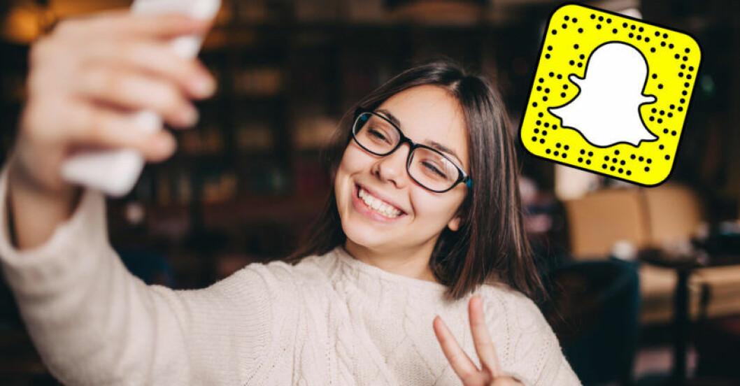 Snapchat-uppdatering