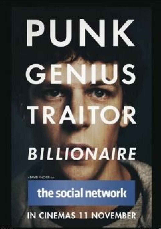 Filmen The Social Network är baserad på verkliga händelser kring hur Facebook skapades.