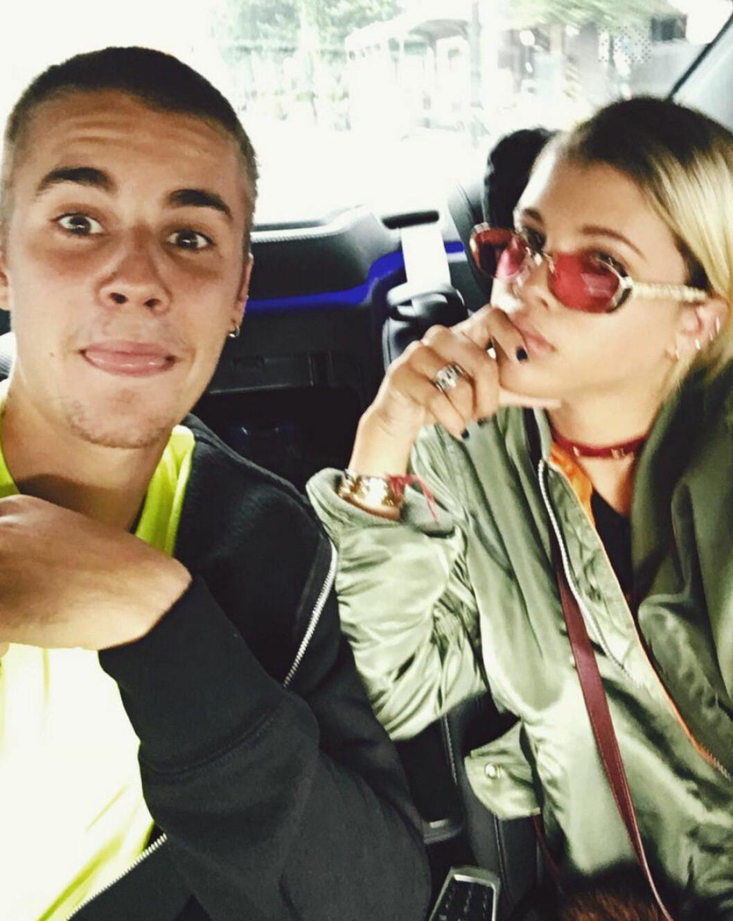 Sofia Richie följde med Justin till Japan.