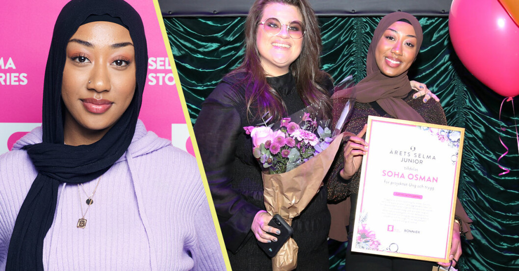 Soha Osman vill göra världen tryggare för unga