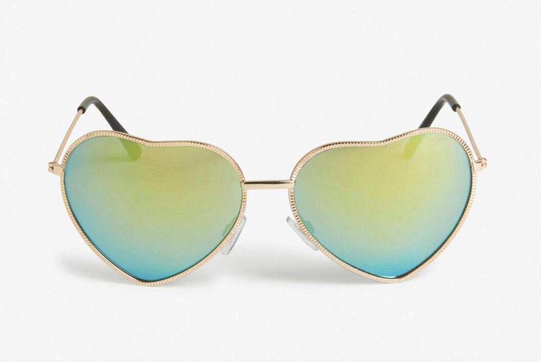 Hjärtformade solglasögon till alla hjärtans dag