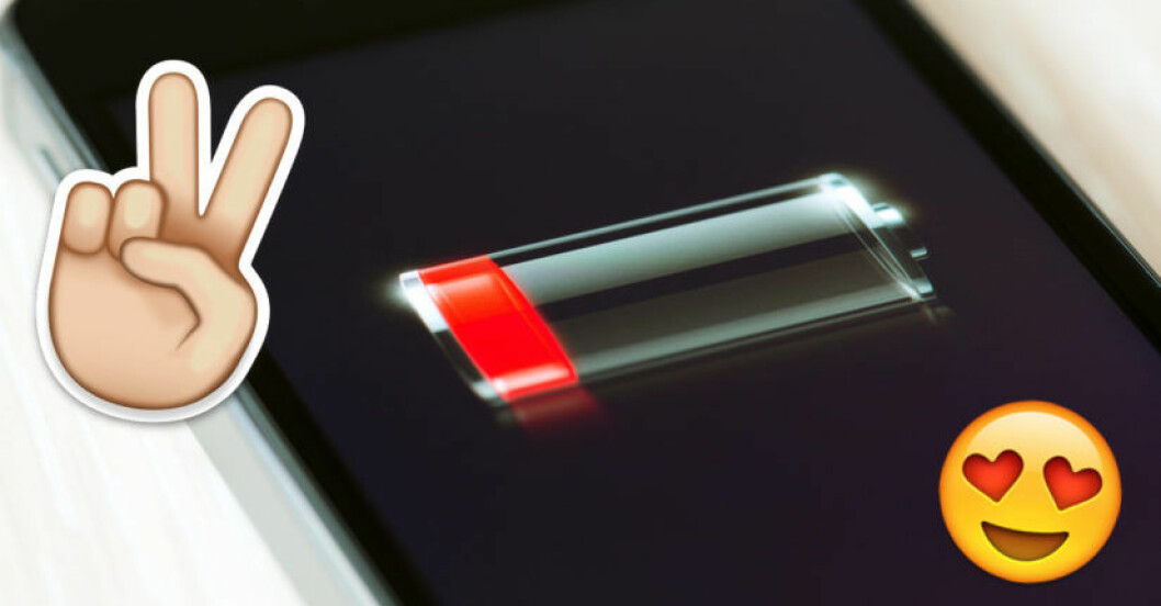 spara batteri mobil