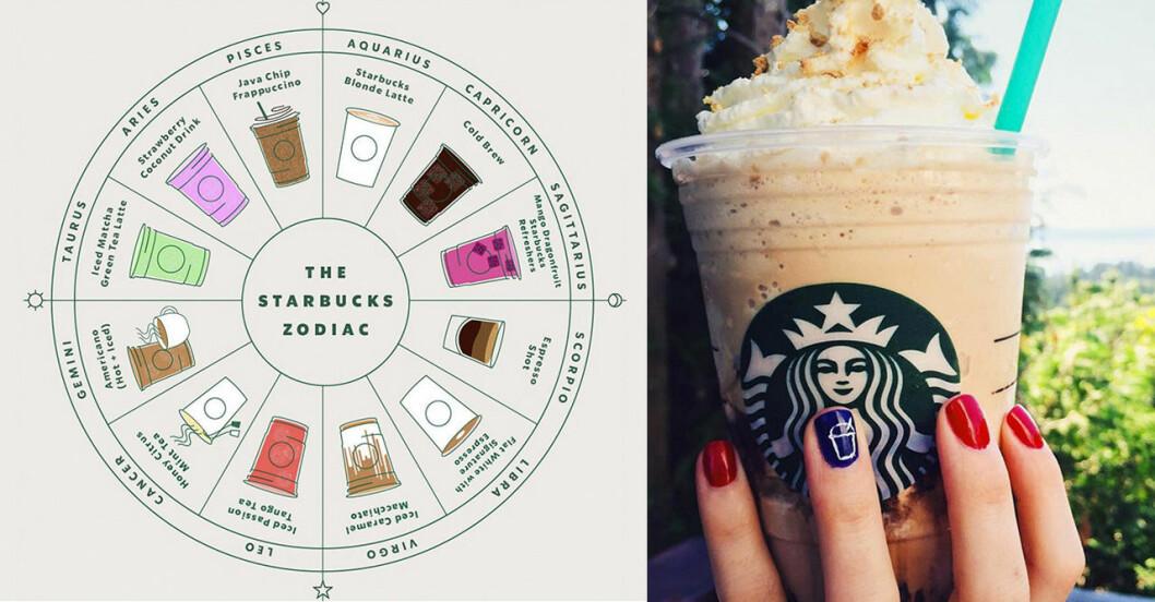 Starbucks lanserar horoskopguide för sina kunder