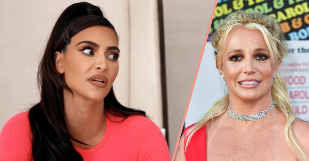 Kim Kardashian och Britney Spears
