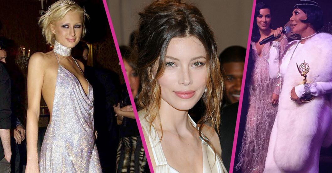 Paris Hilton, Jessica Biel, Kris Jenner