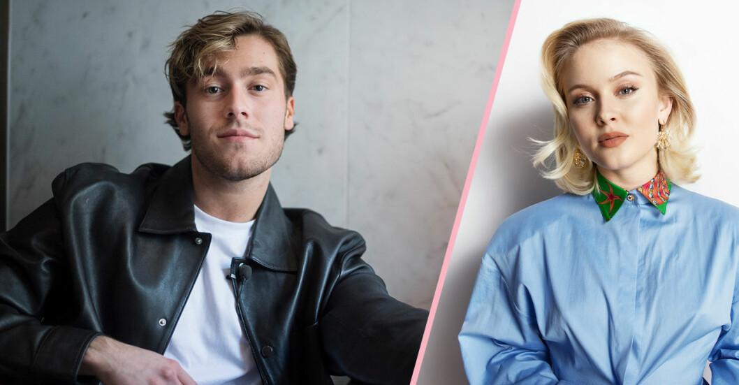 Benjamin Ingrosso och Zara Larsson
