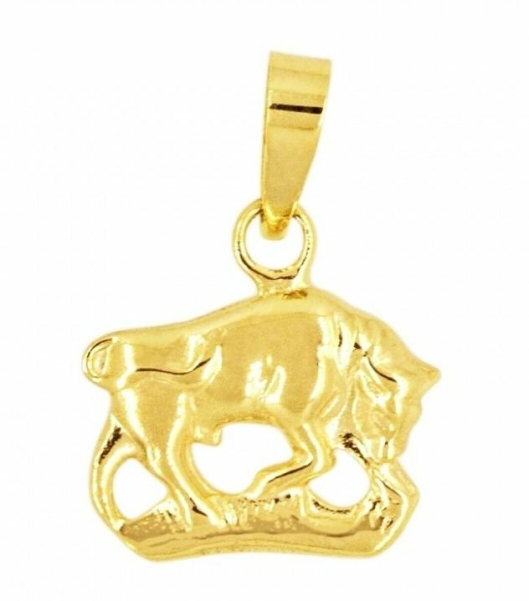 Smycke med stjärntecken oxen