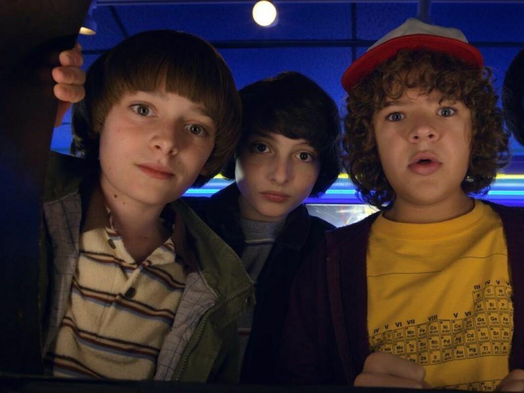 Will, Dustin och Mike