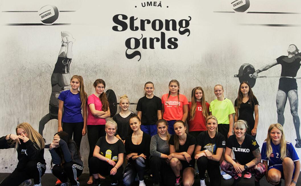 Gruppen som tillsammans testar olika sporter under tio månader.