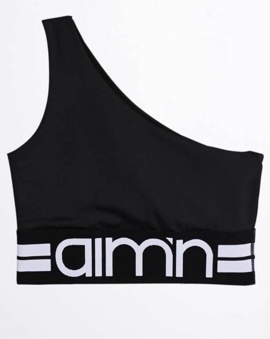 Svart träningstopp från Gina tricot och Aimn