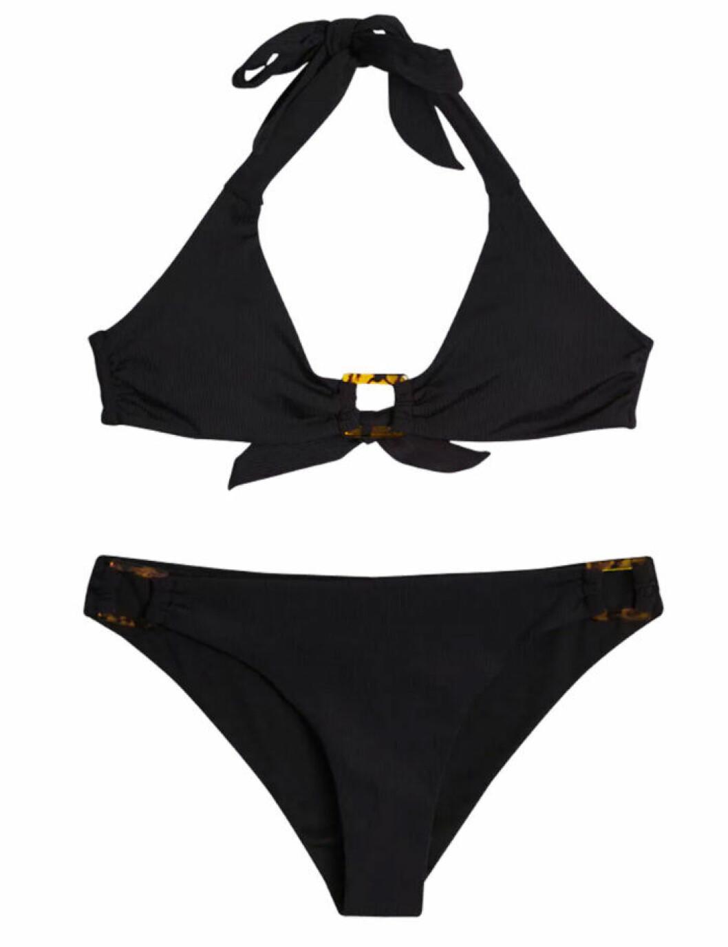 Svart bikini för dam till sommaren 2019