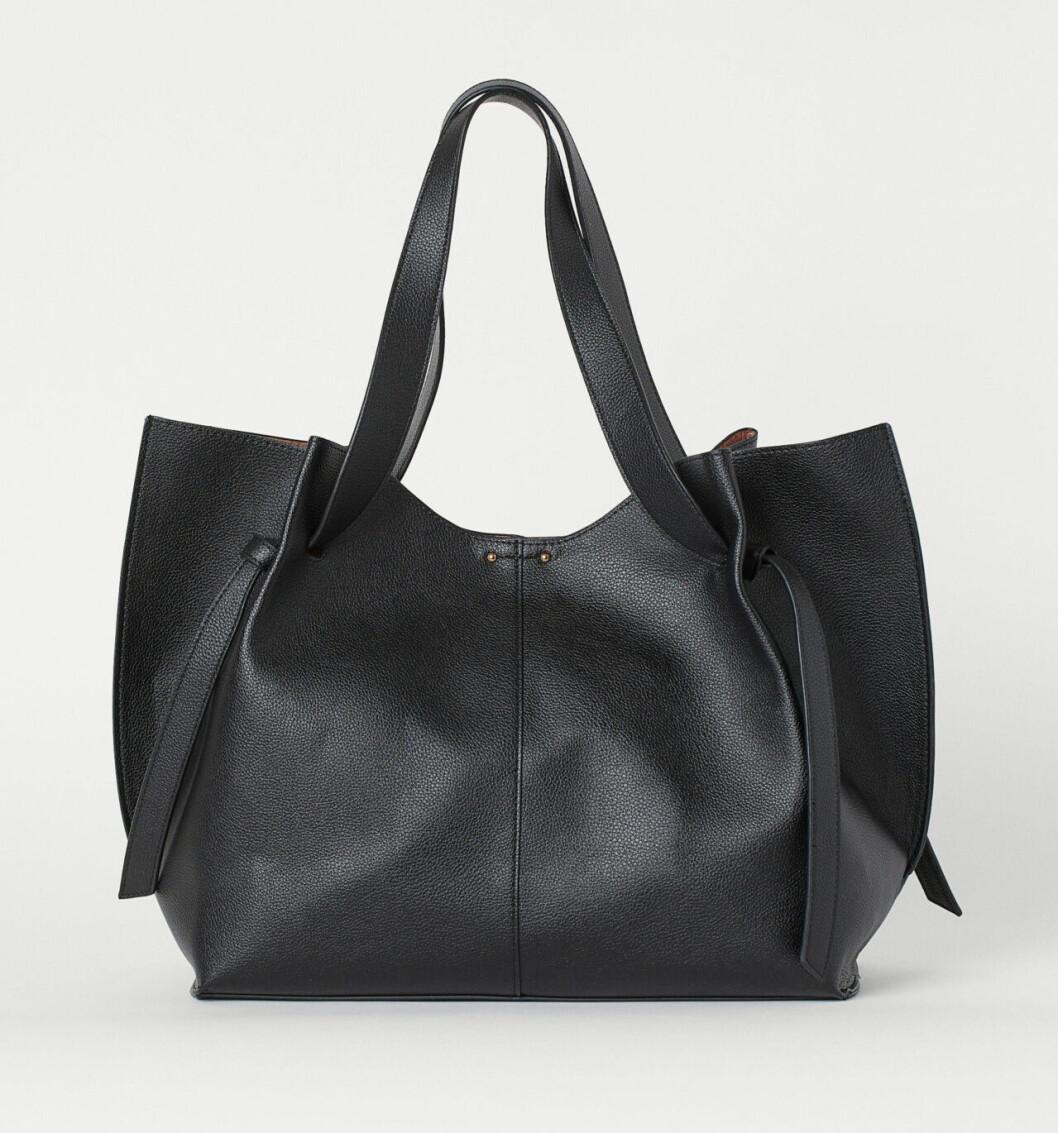 Svart väska till skolan från H&M