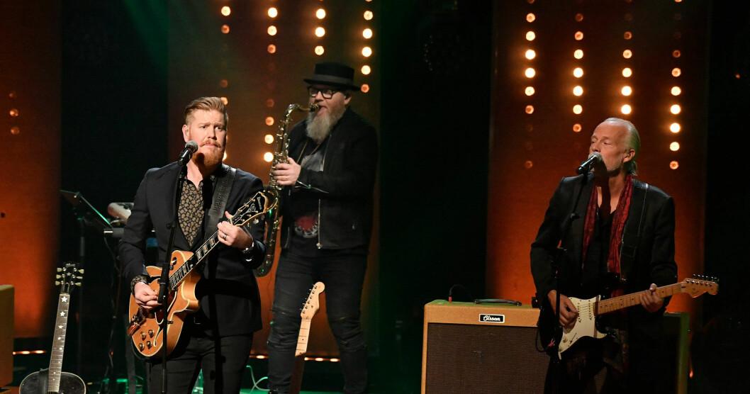 Sven-Ingvars uppträder på Allsång på Skansen den 23 juli 2019.