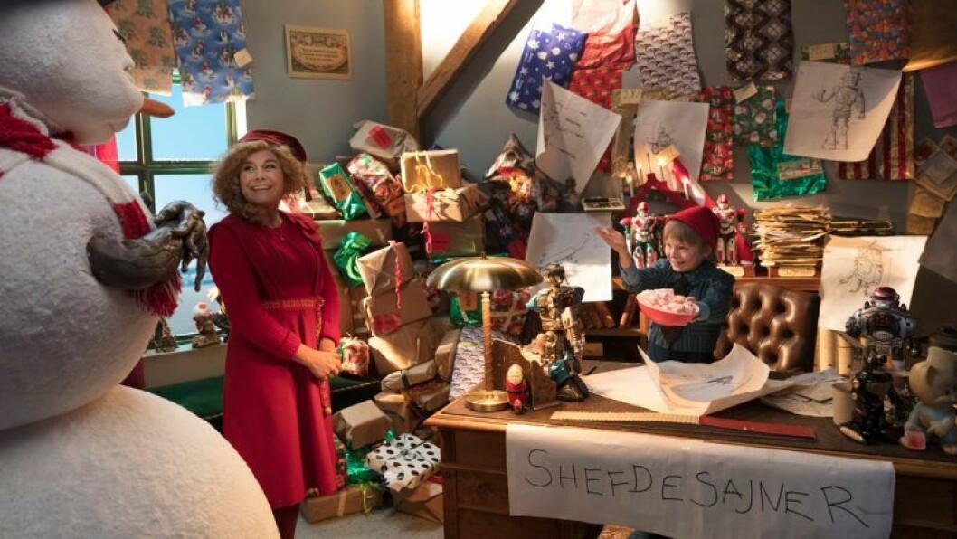 Julkalendern: Panik i tomteverkstan har premiär på SVT i december