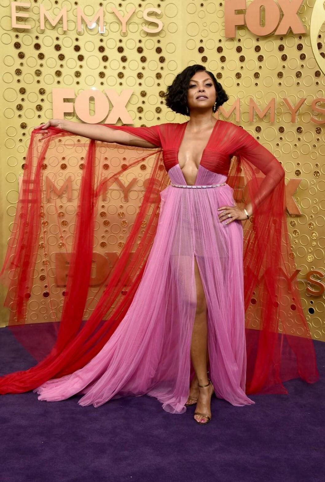 Taraji P. Henson på röda mattan på Emmy Awards 2019