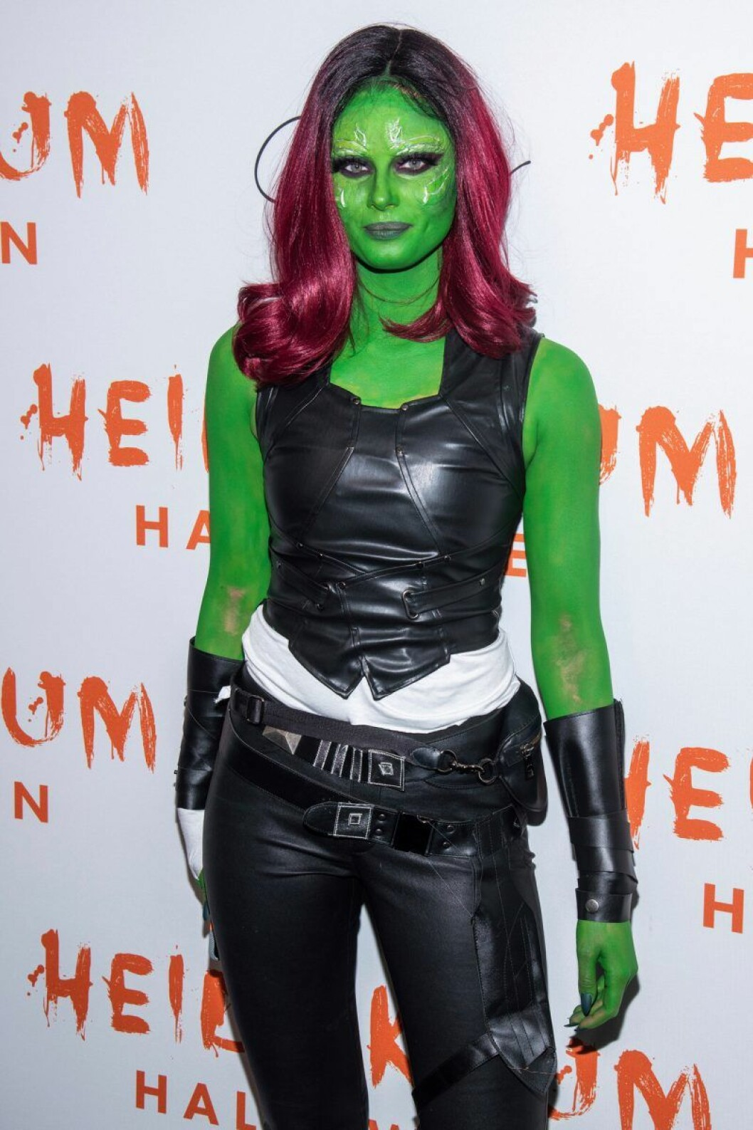 Taylor Hill på Heidi Klums halloweenfest 2019