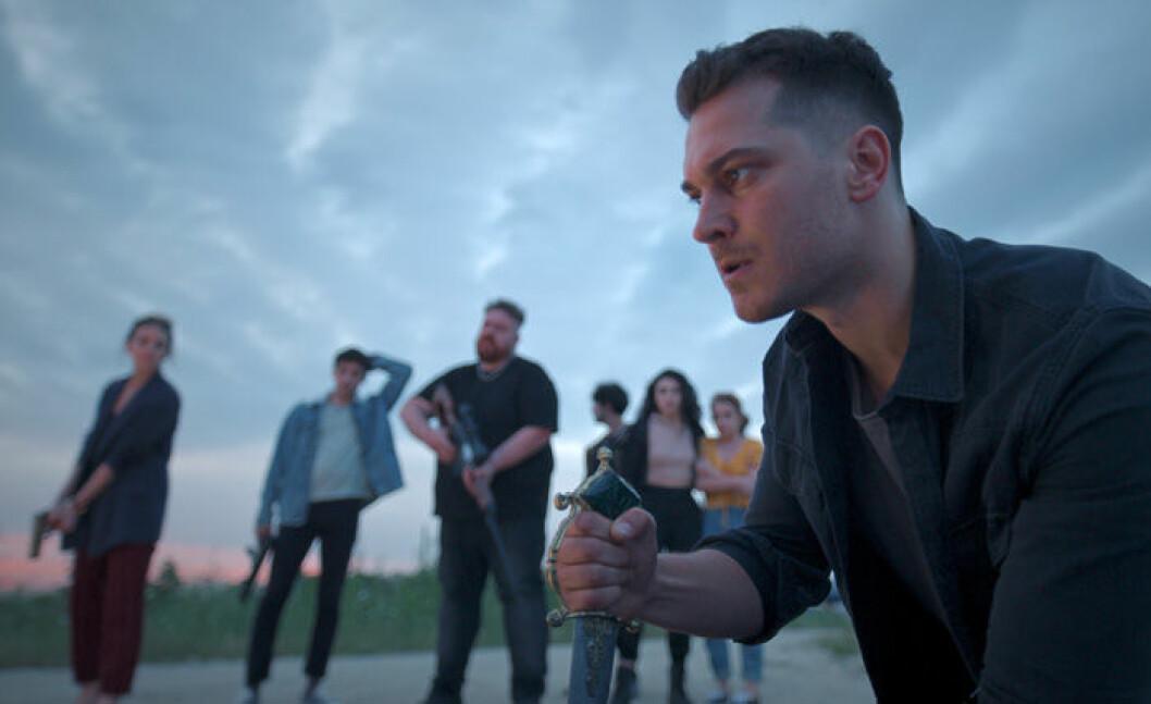 En bild från tv-serien The Protector på Netflix.