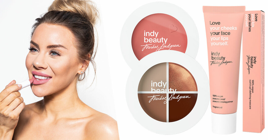 Therese Lindgrens sminkmärke Indy Beauty