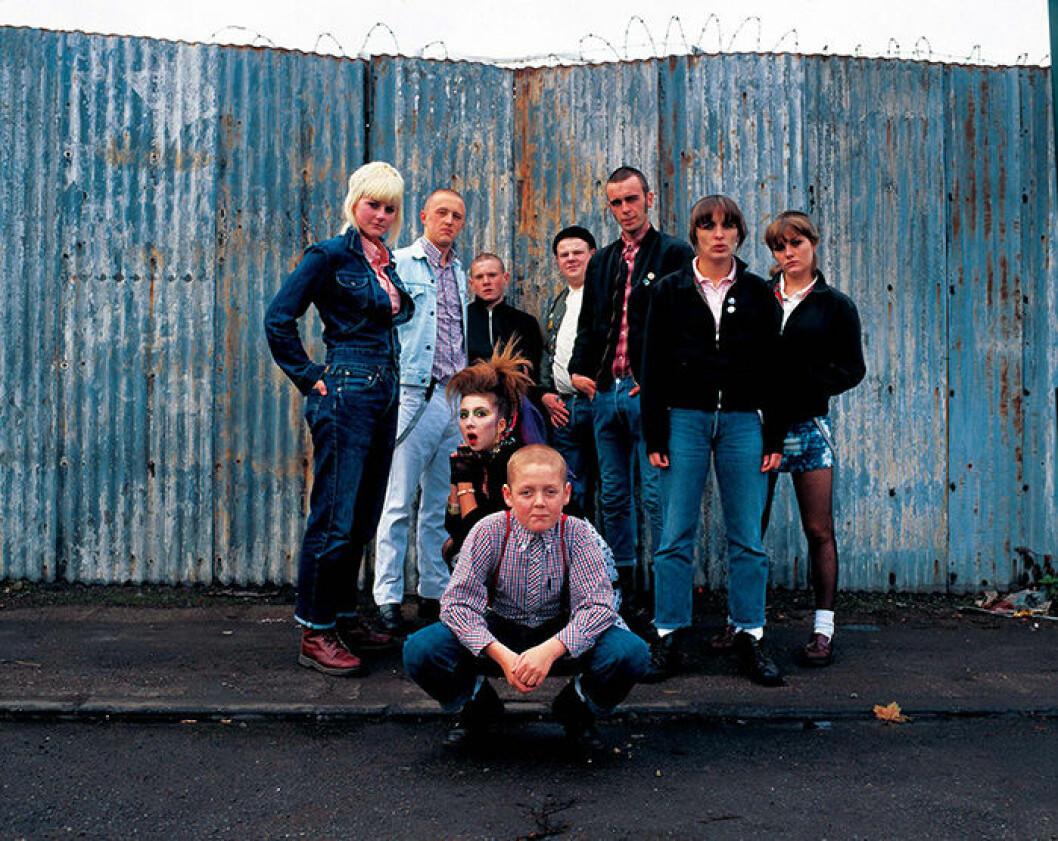 En bild från filmen This Is England från 2006.