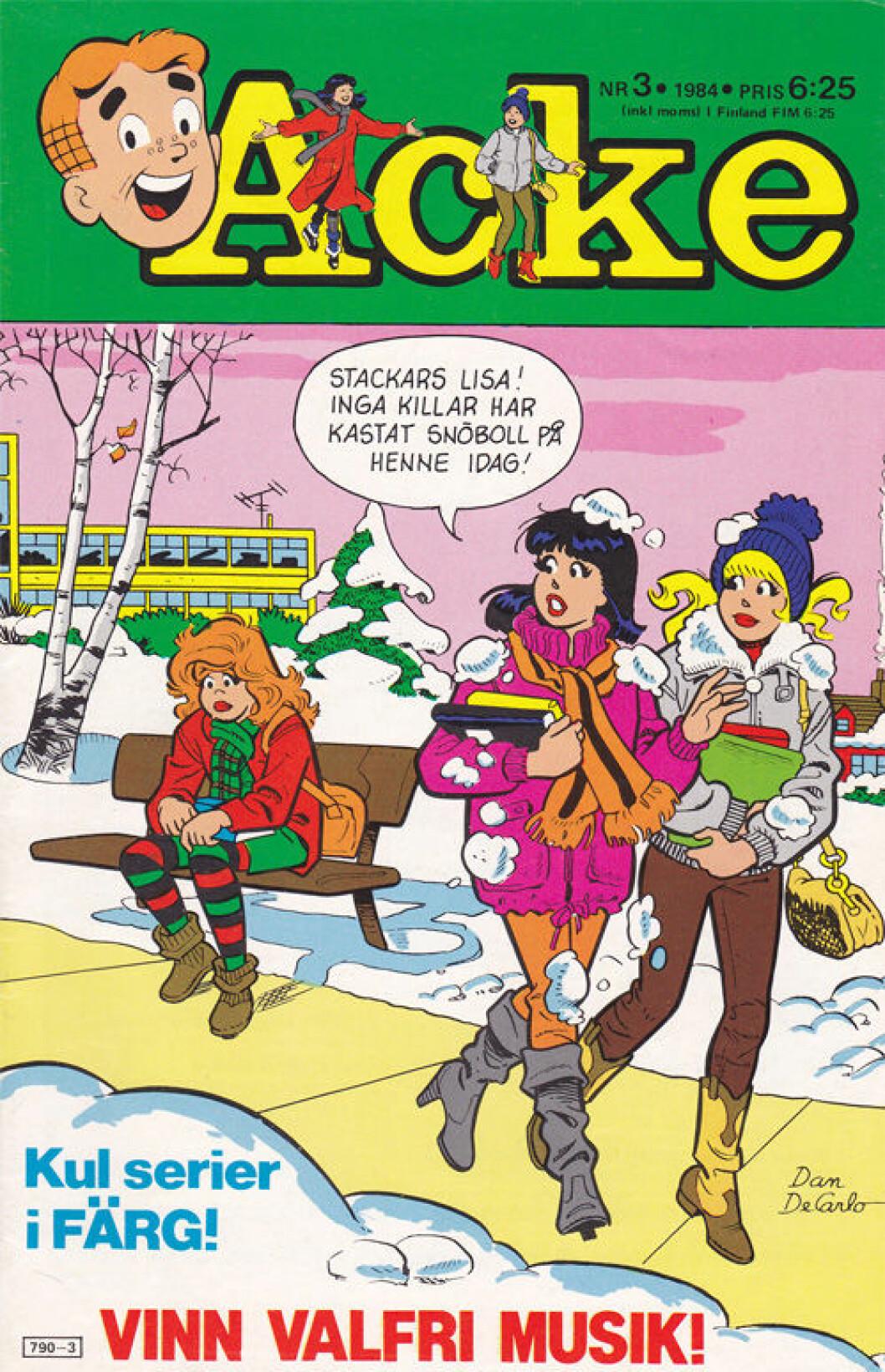 Minns ni serietidningen Acke? Riverdale är baserad på just den tidningen.