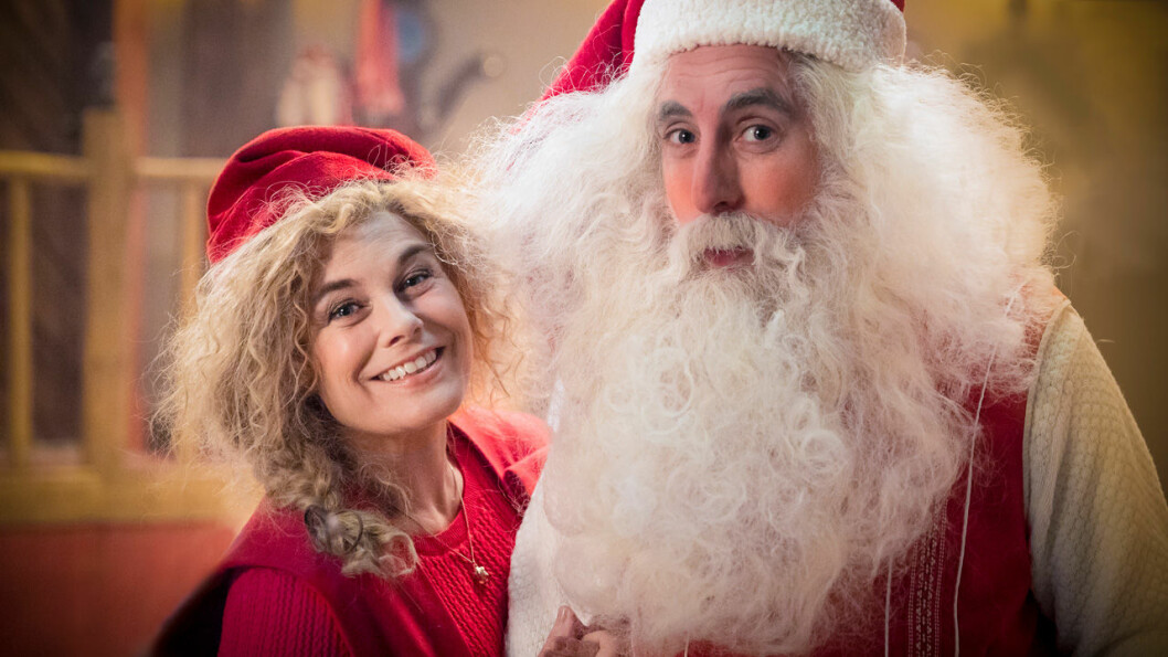 Tomten och Tomtemor i julkalendern 2019