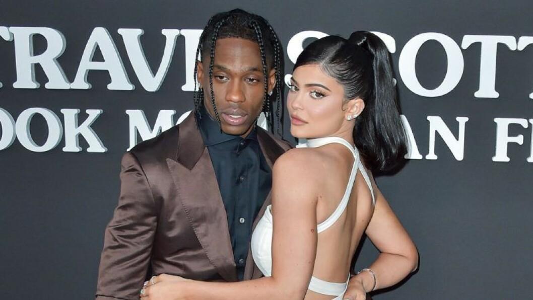 Kylie Jenner och Travis Scott