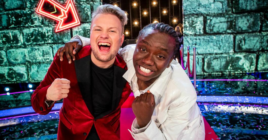 Freddie Liljegren och Tusse Chiza i Idol 2019