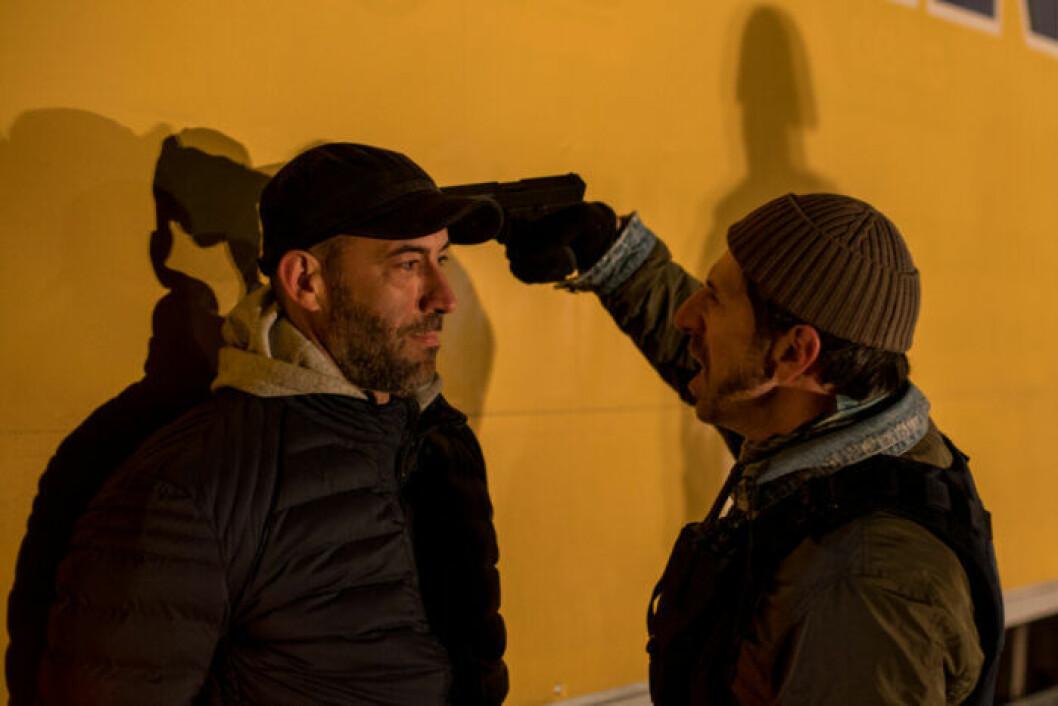 En bild från tv-serien Umbre, en rumänsk HBO-produktion vars tredje säsong har premiär den 20 november.