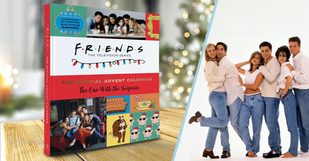vänner julkalender
