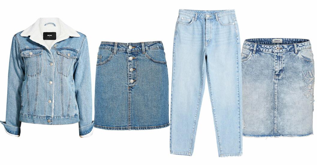 Vårmode 2019 trender ljusa jeans