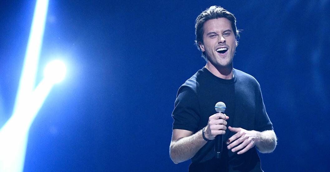 Victor Crone är en av finalisterna Melodifestivalen 2020