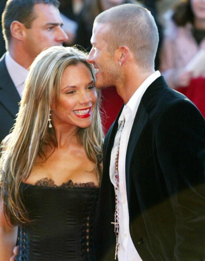 victoria beckham ler med David Beckham