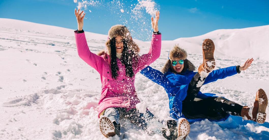 Älskar snö