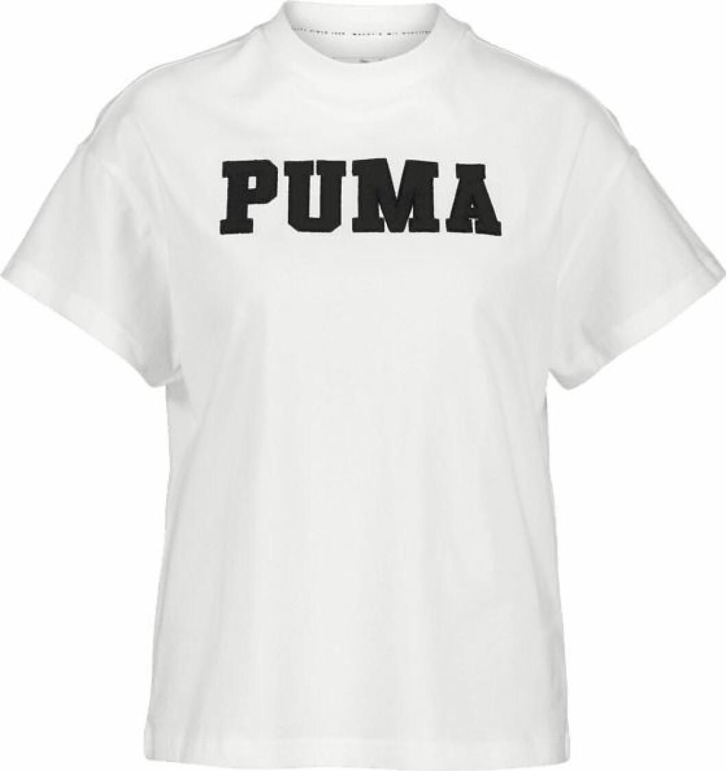 Vit t-shirt från Puma