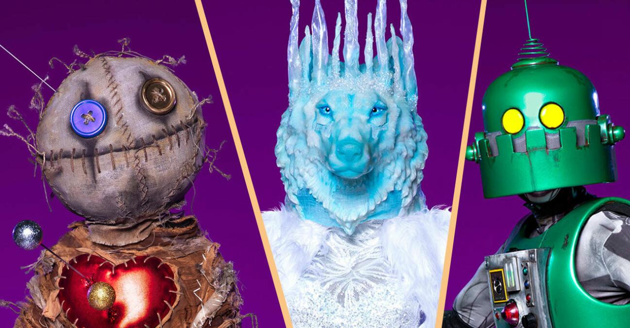 Voodoodockan, Isvargen och Roboten i Masked Singer