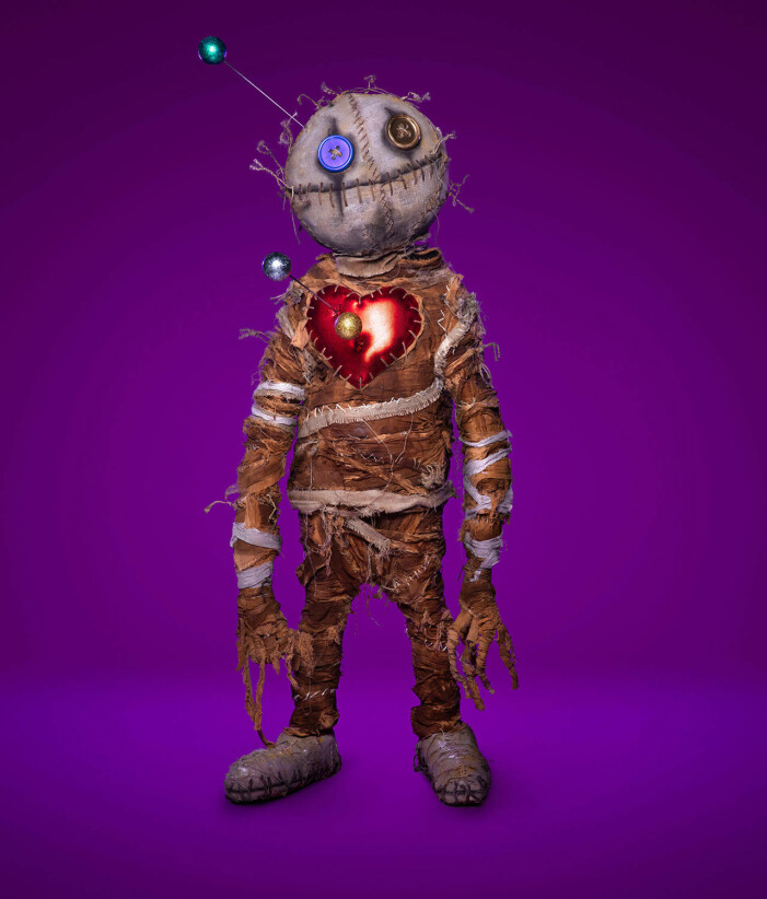Voodoodockan i Masked Singer 2021