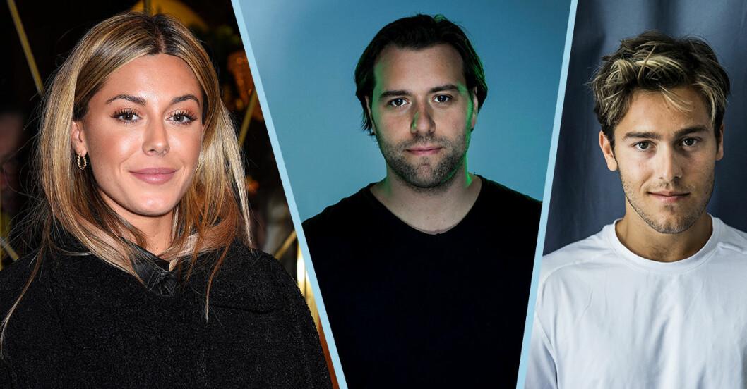 Bianca, Sebastian och Benjamin Ingrosso