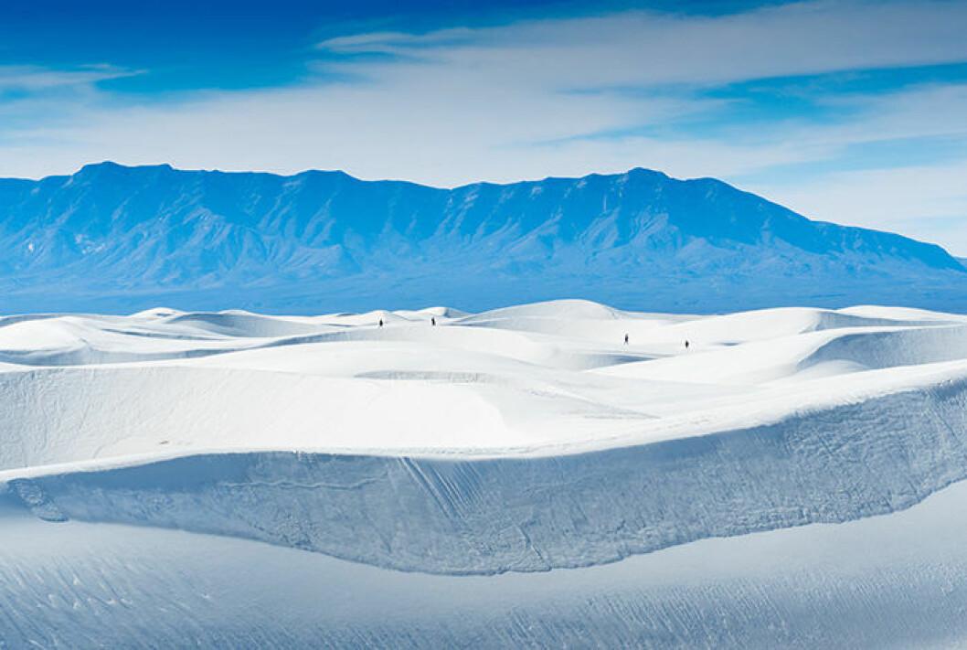 White Sands Nationalmonument i USA