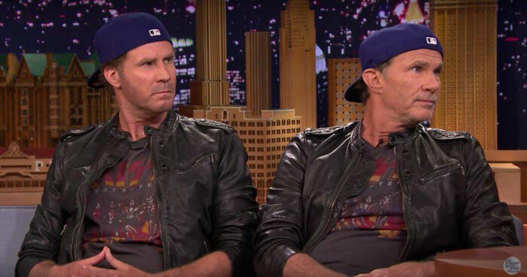 Will Ferrell och Chad Smith
